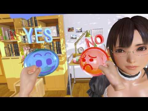 製品版「VRカノジョ」でスカ-トめくりやキスに色んな所を弄ってみる動画