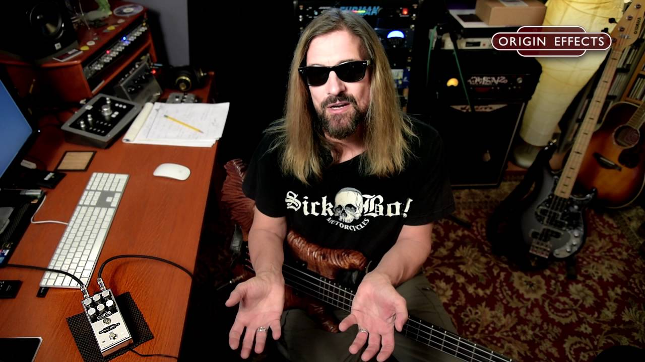 James LoMenzo Demonstrates How To Get Paul McCartneys Bass Tone With The Origin Effects Cali76 CB