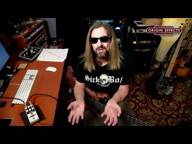 James LoMenzo demonstrates how to get Paul McCartney's bass tone with the Origin Effects Cali76-CB