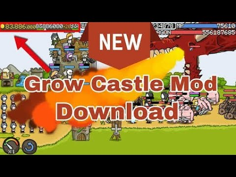 Grow Castle Hacked(Mod) Mega Mod Unlimited Gold & Crystals with Fast Level Up and Skill Points.....