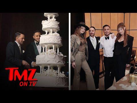 Marc Jacobs Gets Married In Lavish New York Wedding | TMZ TV
