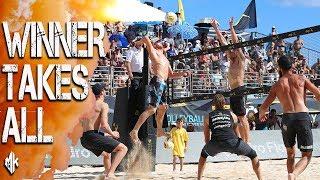 The 4's Awaken | EPIC Beach Volleyball Match