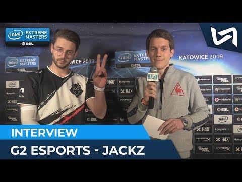 "JaCkz G2 Esports : ""Kenny a vraiment boosté l&39;équipe"" - IEM Katowice 2019"