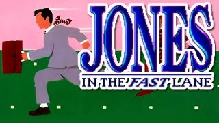 LGR - Jones in the Fast Lane - DOS PC Game Review