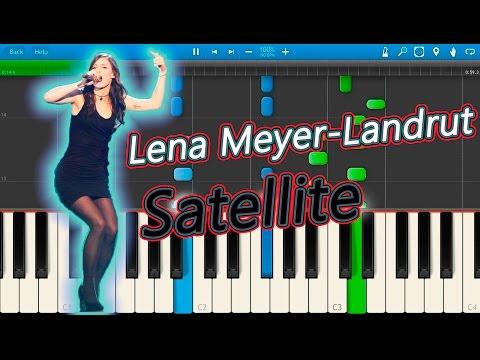 Lena Meyer-Landrut - Satellite (Eurovision 2010 - Germany) [Piano Tutorial] Synthesia