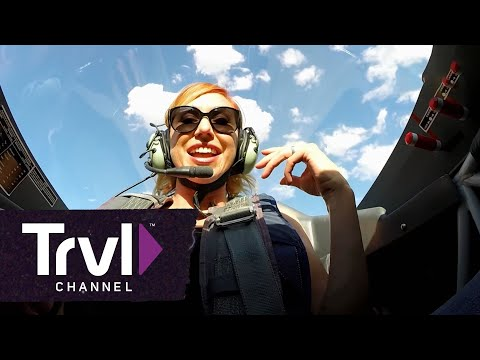 """Tory Belleci Passes Out Going 8Gs in a Stunt Plane on THRILL FACTOR"""