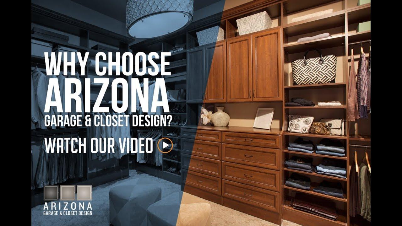 Why Should You Choose Arizona Garage Closet Design Youtube