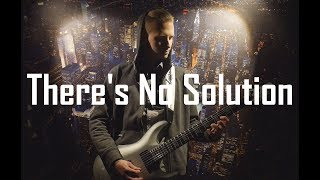 Sum 41 - There's No Solution (guitar cover by KASTR) thumbnail