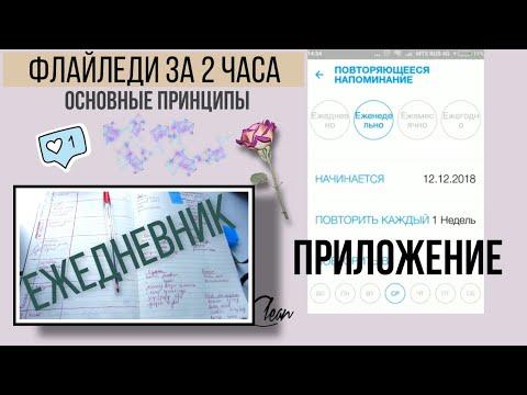 ФлайЛеди Планирование в ежедневнике, в приложении Организация системы уборки дома С чего начать