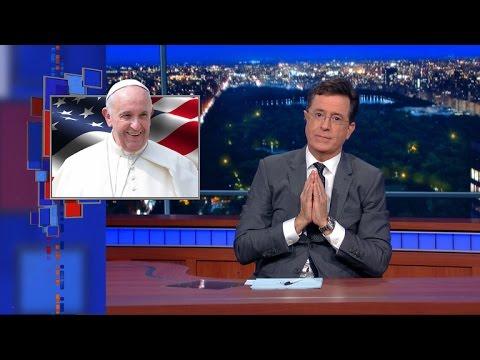 Mr. Pope Goes To Washington