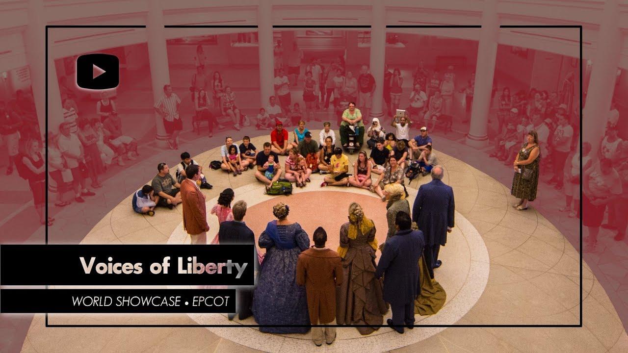 Voices of Liberty FULL SHOW Epcot - Walt Disney World