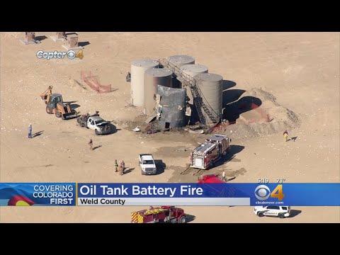 3 Hurt In Weld County Oil Tank Battery Fire