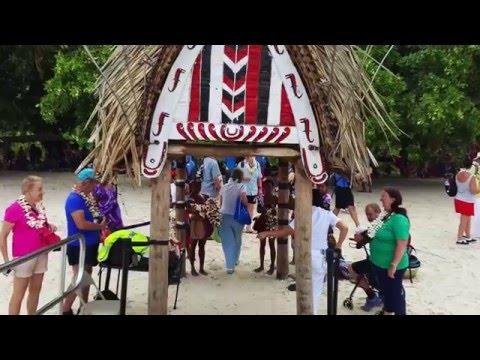 Cruise to Papua New Guinea Sea Princess