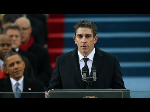 Poet Richard Blanco Delivers Inaugural Poem - Obama