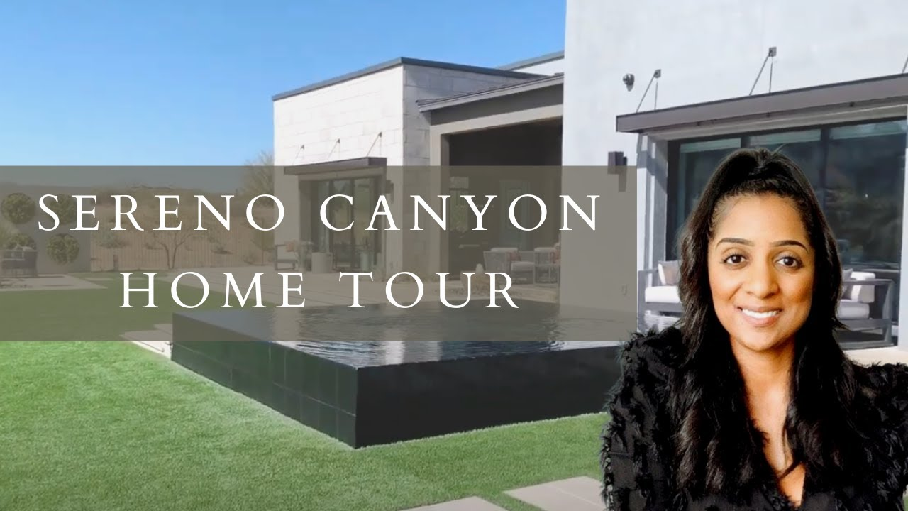 Scottsdale Home Tour - Toll Brothers Sereno Canyon Estate Collection