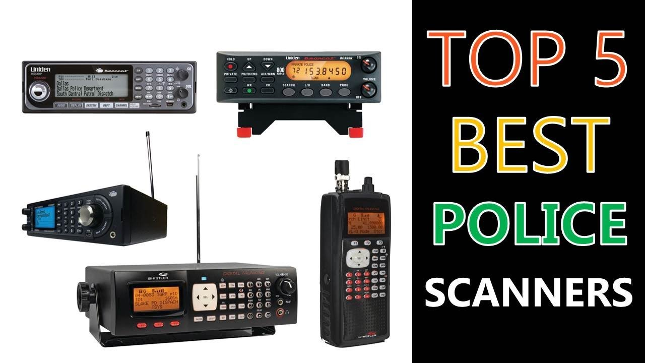 Best Police Scanner Reviews 2019 : Feature-rich Radio