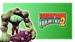 Detonado Donkey Kong Country 2 Diddy's Kong Quest Br - 3º Mundo - Nunca Perdi Tanto Nessa Fase Mano
