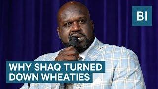 Why Shaq Turned Down Wheaties