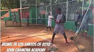 Jaswel De Los Santos OF 2018