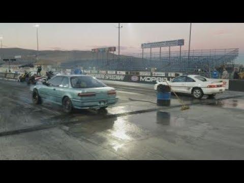Integra Goes Drag Racing
