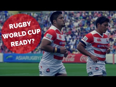 Will Japan Be Rugby World Cup Ready?