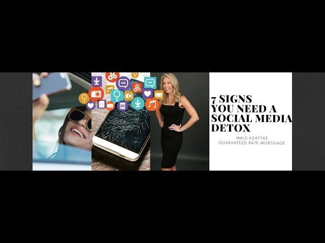 7 Signs You Need A Social Media Detox
