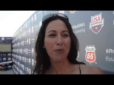 Janet Evans - I Always Wanted An American To Get That Record Back