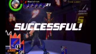 KH ReCOM R/R Riku Playthrough - Part 41, B5F: Wonderland (7/7), Boss: Trickmaster