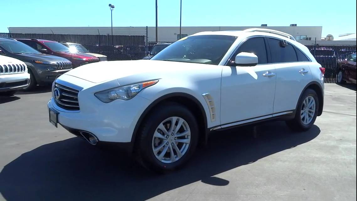 2012 INFINITI FX35 Reno Carson City Northern Nevada