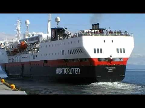 Hurtigruten MS Vesterålen - YouTube