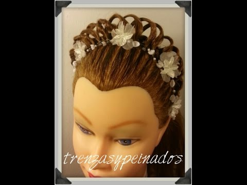 Peinados con corona de princesa para nina