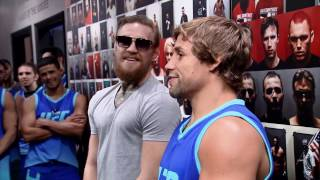 Urijah Faber talks about his banter and exchanges with Conor McGregor from Season 22 of The Ultimate Fighter.