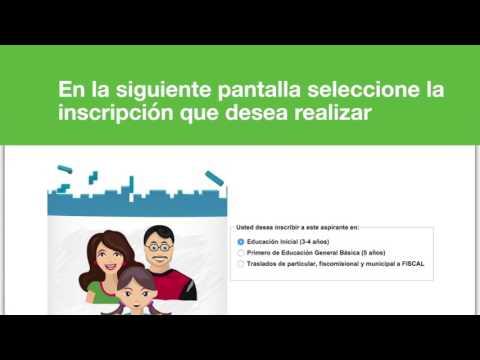 Guía paso a paso de inscripción por Autoservicio régimen Sierra-Amazonía 2017-2018