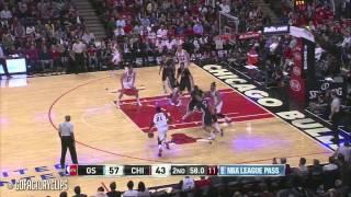 Klay Thompson vs Jimmy Butler Full Duel Highlights Warriors at Bulls 2014 12 06   48 Pts Total!