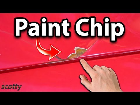 Fixing Paint Chips On Your Car