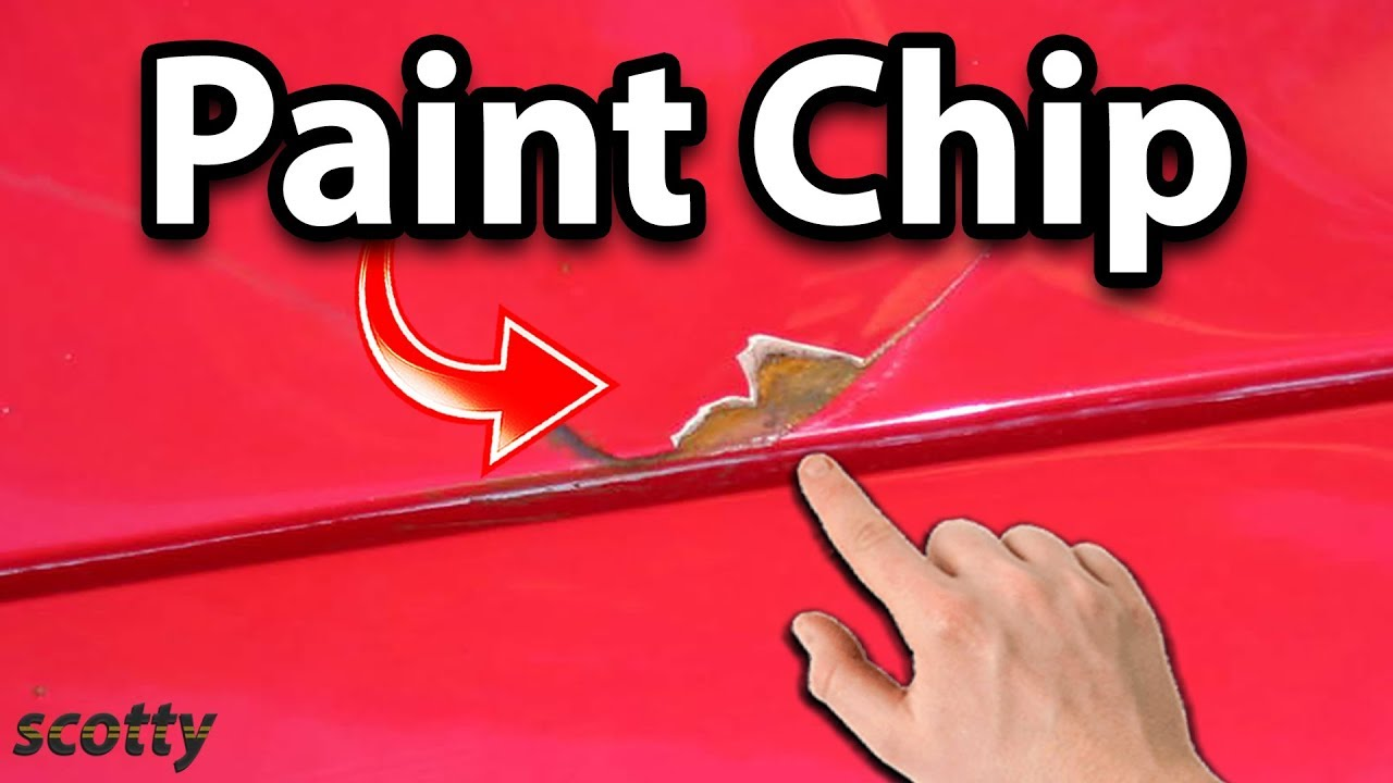 How To Fix Paint Chips