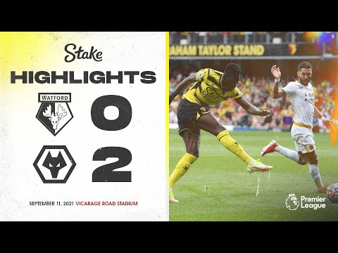 Extended highlights    Watford 0-2 Wolves