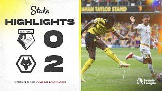 Уотфорд  0-2  Вулверхэмптон видео