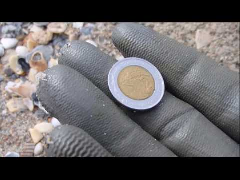 Early Spring Treasures - Beach Metal Detecting in Atlantic Beach and Pine Knoll Shores, NC