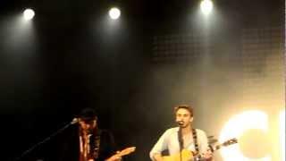 Clueso live WENN EIN MENSCH LEBT Dortmund 15.09.12