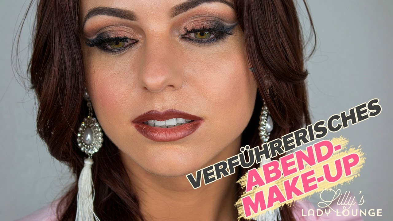 glamour abend make up look mit naturkosmetik tutorial youtube. Black Bedroom Furniture Sets. Home Design Ideas