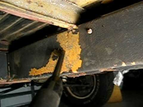 How To Remove Rust On Car Parts