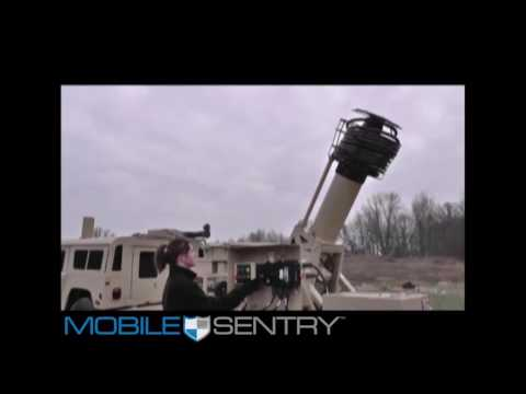 Mobile Sentry Surveillance Trailer