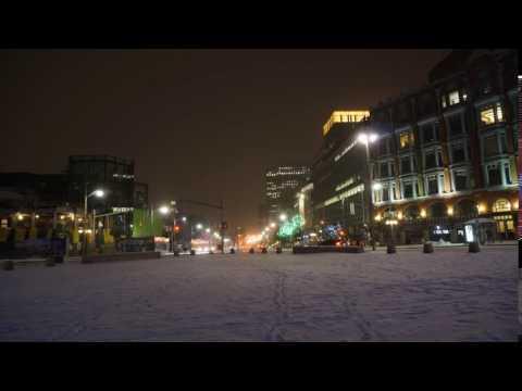 Ottawa at night in December 2016