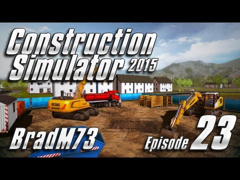 Construction Simulator 2015 - Episode 23 - The Mayor's Pool, Part 1!!!!