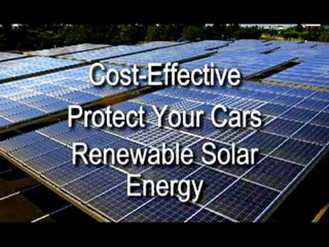 Own A Solar Powered Carport From LifePort