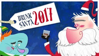 Drunk Santa - Mukpuddy Christmas Message 2017
