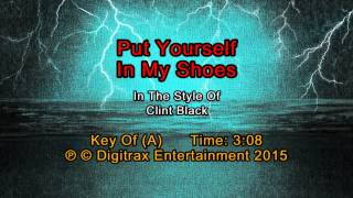 Clint Black - Put Yourself In My Shoes (Backing Track)