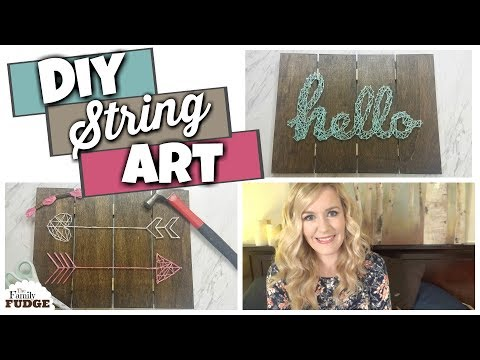 DIY String Art Tutorial || Easy, Budget Friendly Craft Idea