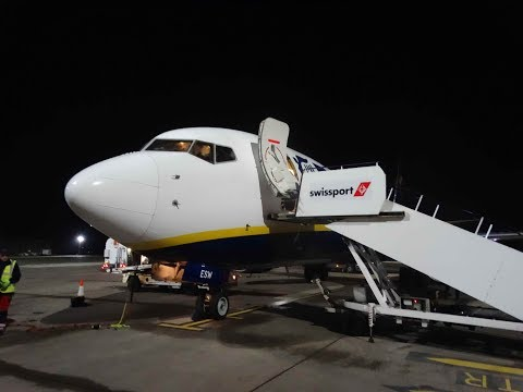 Ryanair Boeing 737-8AS Dublin to Liverpool | Full Flight